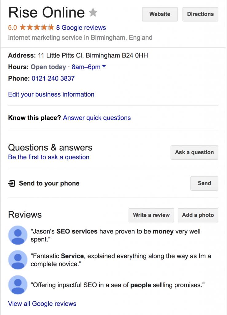 Rise Online Reviews