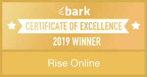 rise online bark winner